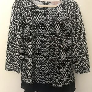 Casual couture blouse